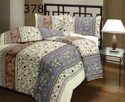 Floral Double Bed Winter Cotton Quilt