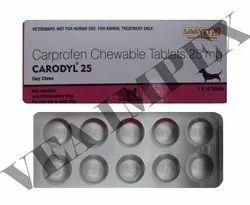 Carodyl 25mg (10 Tabs)