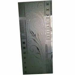 Printed Designer Door Glass, Thickness: 5-10 Mm