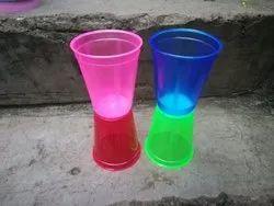 Plastic Transparent papsi glass