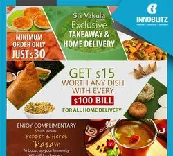 Food Order System - Hotel & Restaurants - Delivery & Take Away in Pan India