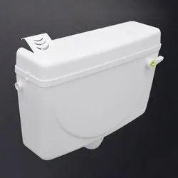 White Plastic Flushing Cistern