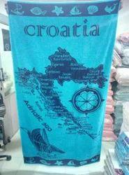 Multicolor Cotton Surplus Beach Towels, Size: 32 x 64 inch