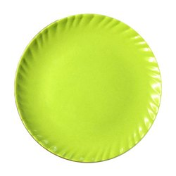 Melamine Laher Green Color Plate