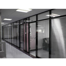 Glass Full Height Office Partitions