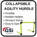 Collapsible Agility Hurdle