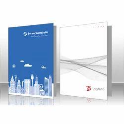 Presentation Folder Printing Service