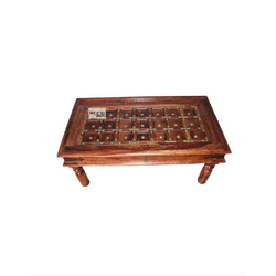 Brown Rectangular Sheesham Wooden Center Table, For Home, Size: 110 X 60 X 45 Cm