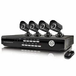 Black 4 Channel DVR System