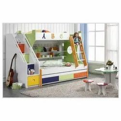 Step Shaped Kids Bed