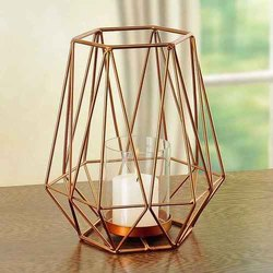 Hexagon Single Candle Stand