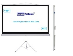 Screen Technics 5x7 Tripod Projector Screen