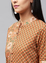 Printed Straight Kurta With Palazzo Set