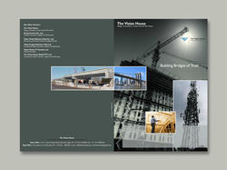 The Vision House Brochure Design