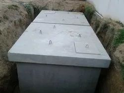 Precast RCC tank for Drinking water