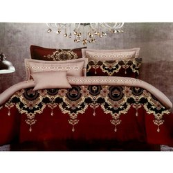 Printed Designer Double Bed Sheets