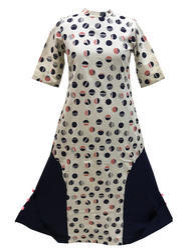 Cotton Slub Printed Tunic