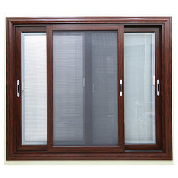 3 Track Sliding Window With Mosquito Mesh