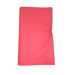 Tomato Red Cotton Fabric, Use: Garments