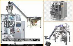 Proveg Food Wheat Flour Packing Machine, Capacity: 500-1000 Pouch Per Hour, 440 V
