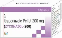 Itraconazole 200 Mg Capsule, Packaging Type: Alu Alu, Rs 109 /strip