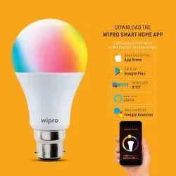 Wipro 9w LED Smart Bulb