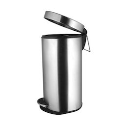 Plain Solid Paddle Dustbin