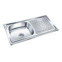 Single Bowl Sink With Drainboard