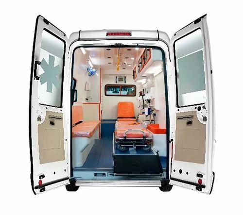 Pre Hospital Care - Force Traveller 3350 WB AC Cardiac Ambulance