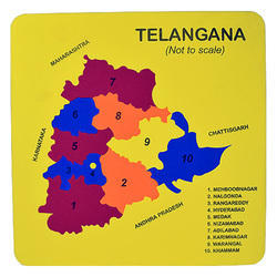 Political State Maps - Wholesale Price for Political State Maps in India
