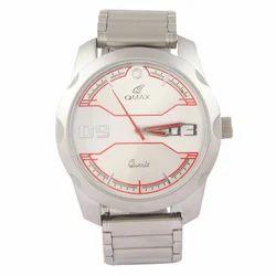 Men Luxury(Premium) Qmax Silver Metal Analog Watch, 5604-HSC, Model Name/Number: 5604-hsc