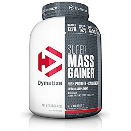 Dymatize Nutrition Super Mass Gainer 6LBS, Bucket