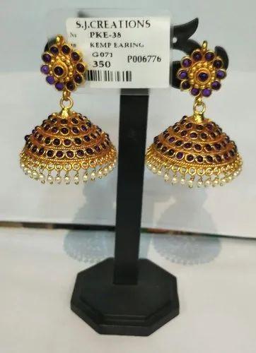 Fancy Polki Kemp Earring