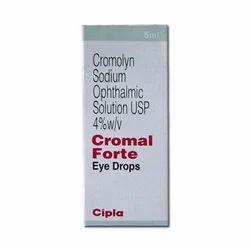Cromolyn Sodium Ophthalmic Solution Eye Drop USP