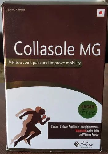 Collagen Peptides, N Acetylglucosamine, L Glutamine and Vitamin Sachet