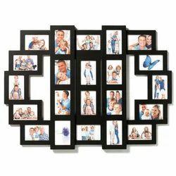 Black Collage Wooden Photo Frame