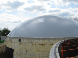 PVC Coated Fabric Tank Biogas Covers