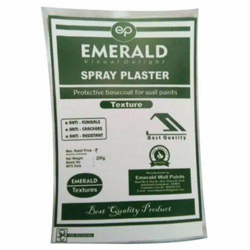 Emerald Spray Plaster, Packaging Type: Pp Sack Bag, Packing Size: 25 kg