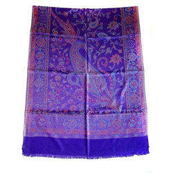 Girisha Casual Wear Printed Silk Shawls