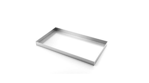 Stainless Steel Bakery Trays Shape Rectangle Rs 675 Piece Id