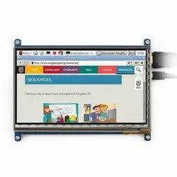 7 inch LCD Capacitive Touch Screen Display with HDMI for Raspberry Pi (800 x 480 Resolution)