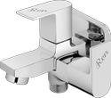 Classic Wall Mounted 2 Way Cock With Wall Flange (r2s-806) For Bathroom Fitting