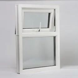 White And Transparent Top Hung UPVC Ventilator