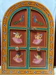 Decorative Wooden Window, Size/Dimension: 15
