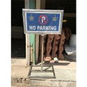 Outdoor No Parking Sign Boards