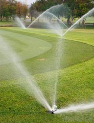 Drip Irrigation System for Golf Course