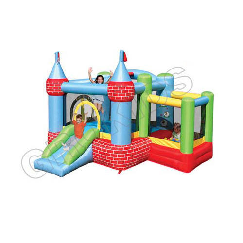 Castle Bouncer And Ballpit
