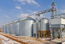 Maize Storage Silo