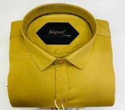 Casual Wear Bajson Xact Plain Shirt