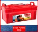 Express 1800 Exide Battery, Warranty: 48 Month